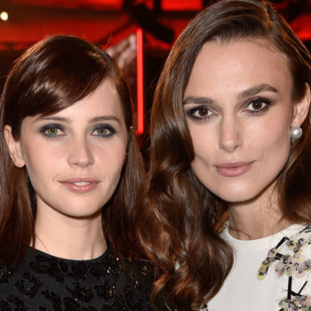 "Felicity Jones acted with Keira Knightley in her very first movie and it will make you say, ""Awwww!"""