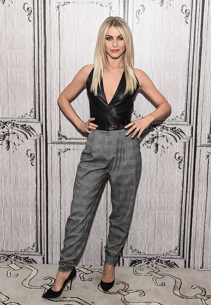 NEW YORK, NY - DECEMBER 14:  Julianne Hough attends AOL Build to discuss the 'Move Live' Performance Tour at AOL HQ on December 14, 2016 in New York City.  (Photo by Daniel Zuchnik/WireImage)