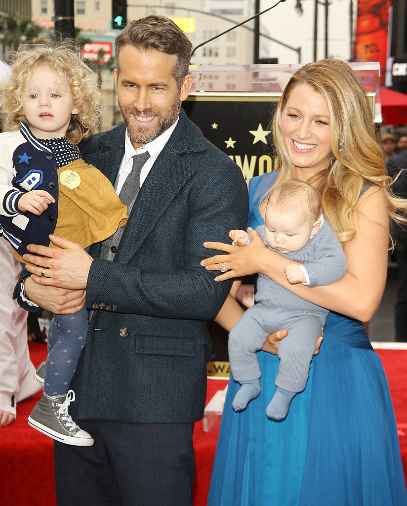 attends the ceremony honoring actor Ryan Reynolds with a Star on The Hollywood Walk of Fame held on December 15, 2016 in Hollywood, California.
