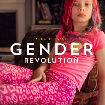 A transgender girl just made history on the cover of this legendary magazine