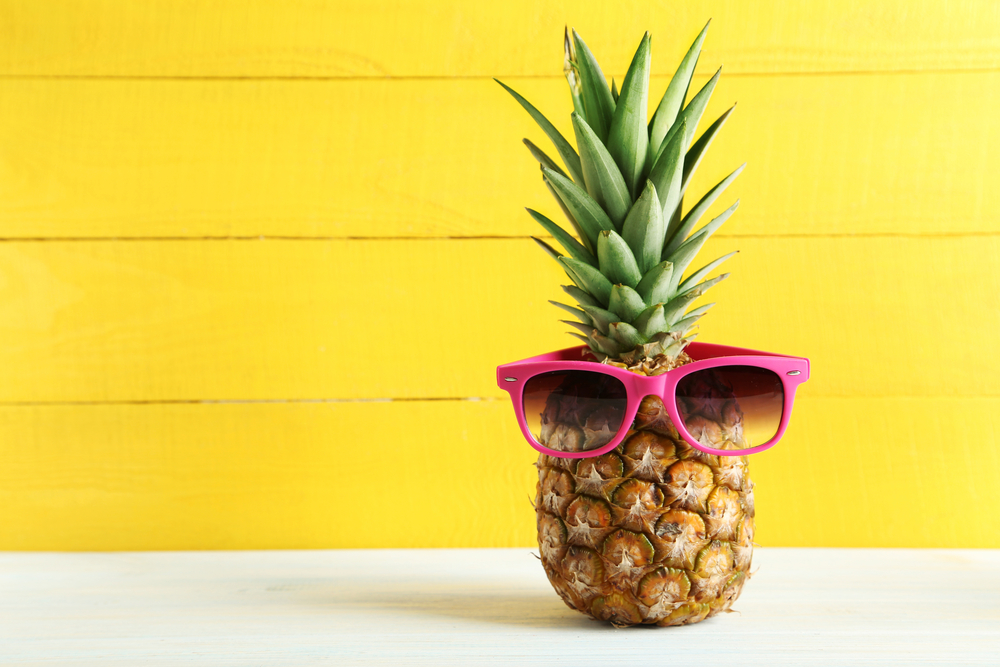 A pink pineapple now exists and we can't stop imagining all the cocktail creations to come