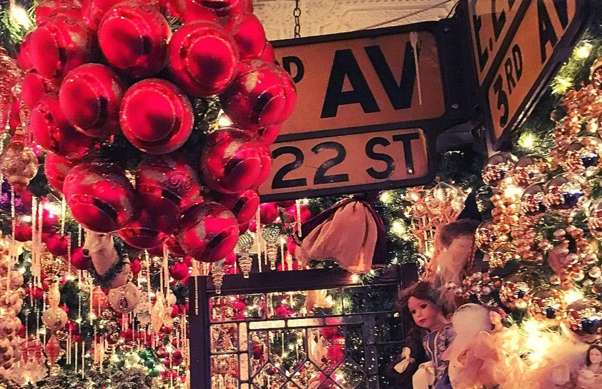 this new york restaurant has taken christmas decorations to an entirely new level and you wont believe how much it costs