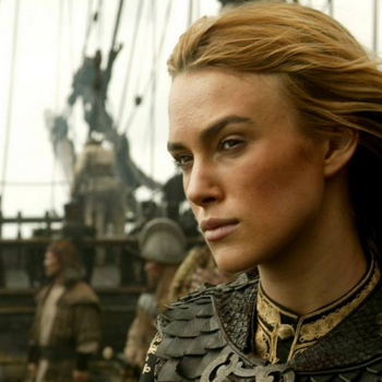 "So, Keira Knightley MIGHT return to the ""Pirates of the Caribbean"" movies and that'd be awesome"