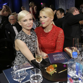 """Michelle Williams' words on """"love of my life"""" Busy Phillips will make you cry BFF tears"""