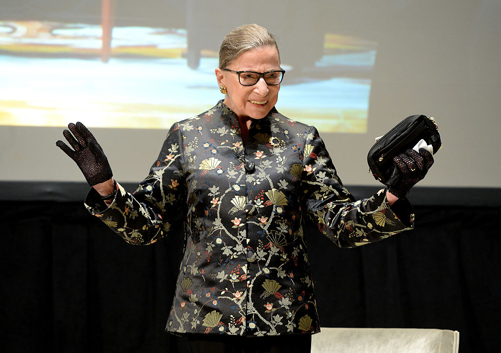 this girl dressed up like her favorite superhero  ruth bader ginsburg  and we cannot get enough
