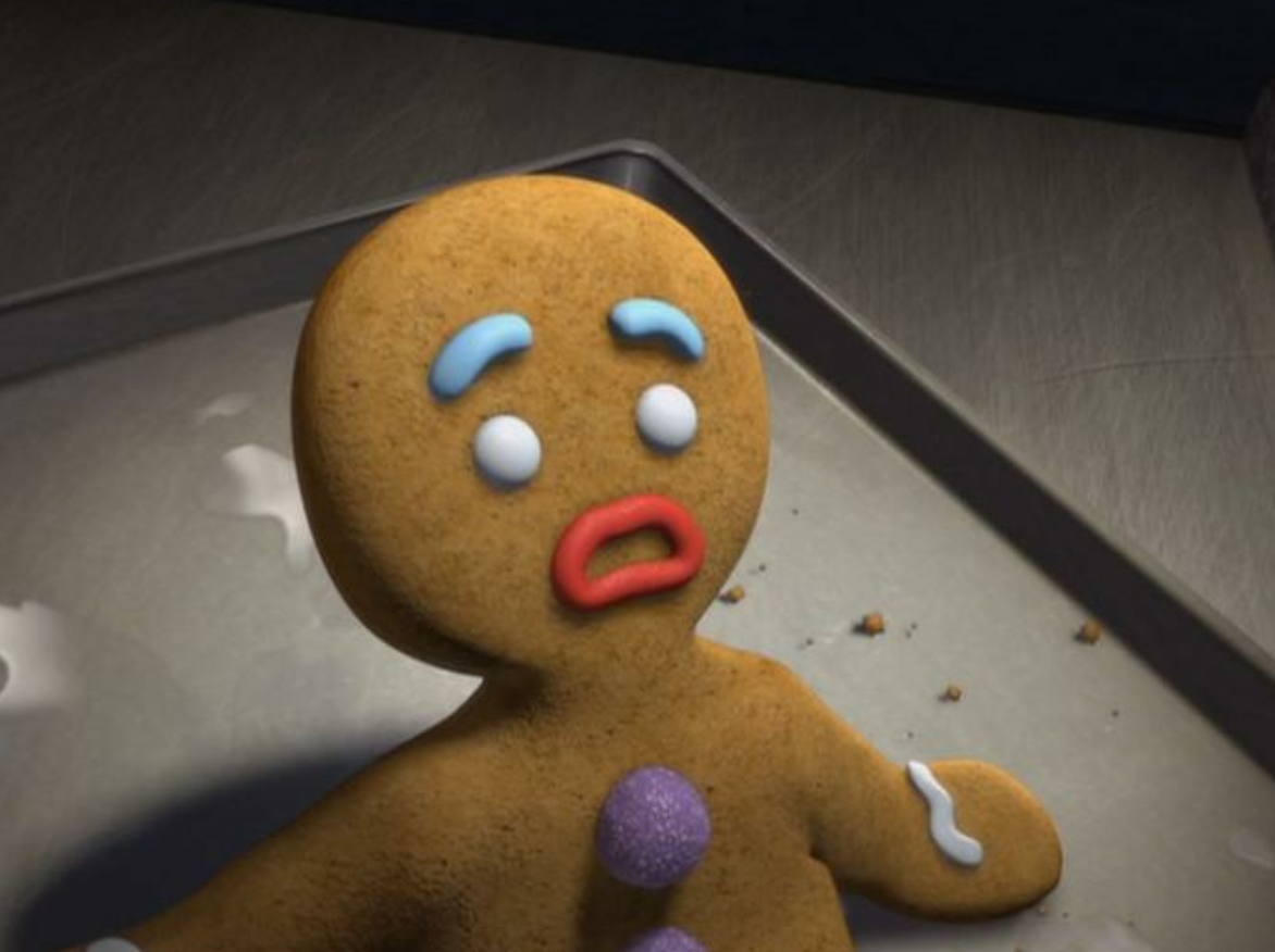 This existential Gingerbread Man meme is going viral thanks to Christmas pessimists