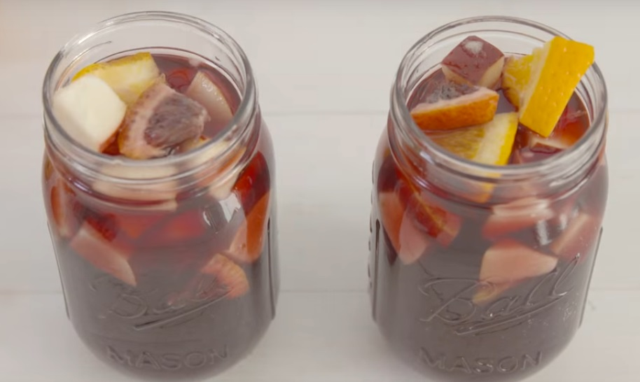 Here's a Fireball sangria recipe to take the edge off your holiday stress