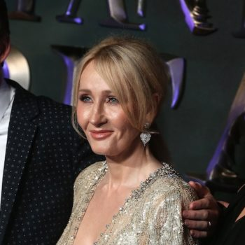 J.K. Rowling just sent the best message of support to anyone struggling during the holidays