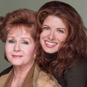 Debra Messing paid tribute to her on-screen mom Debbie Reynolds and we're crying