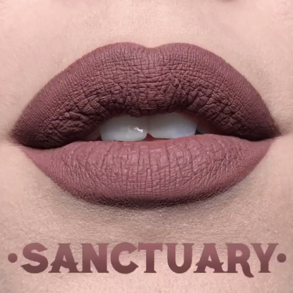 kat von d has revealed lip swatches of all of the new everlasting