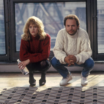 """Here's what time you need to start watching """"When Harry Met Sally"""" to have it *perfectly* sync up with the midnight countdown"""