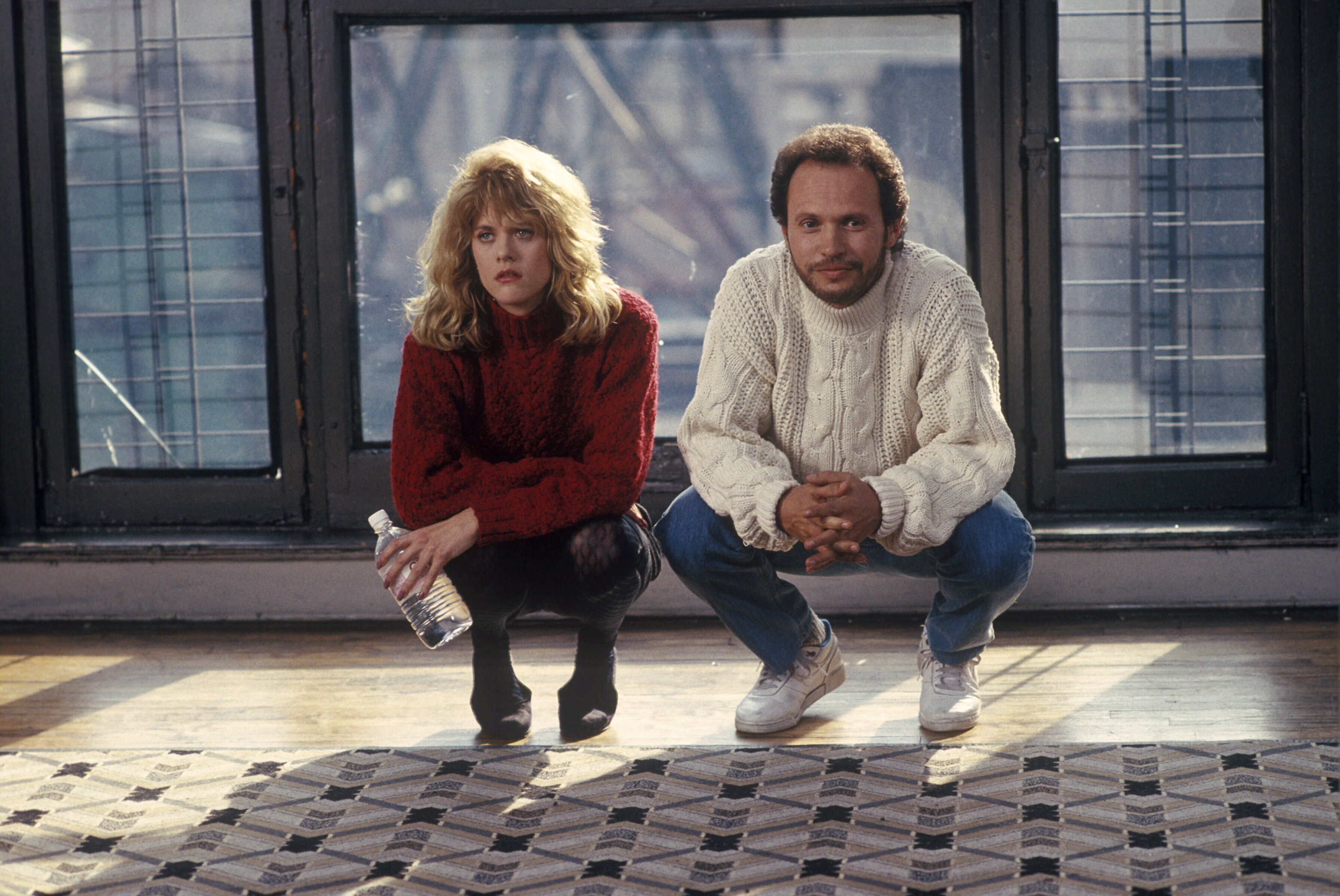 "Here's what time you need to start watching ""When Harry Met Sally"" to have it *perfectly* sync up with the midnight countdown"