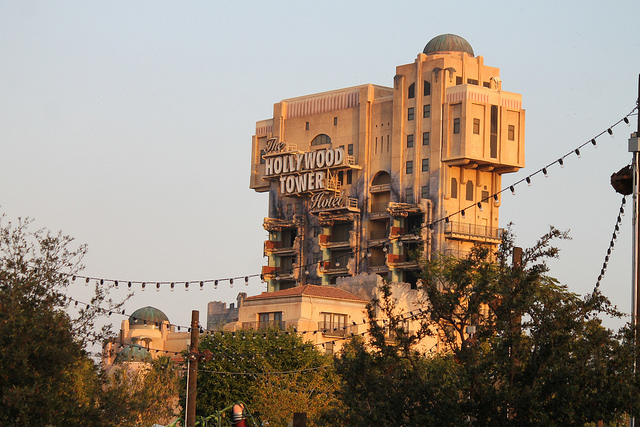 tower of terror is now closed forever at disneyland and people have