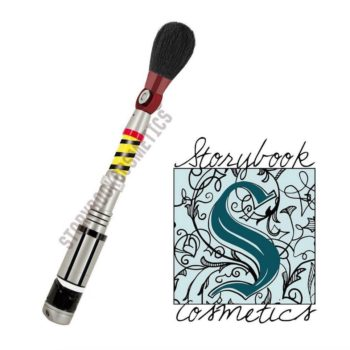 """Storybook Cosmetics is possibly coming out with a """"Doctor Who"""" brush and we are SO excited"""