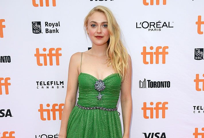 While everyone else is staring at Dakota Fanning's outfit, we can't stop gawking at her socks