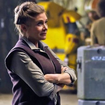 "It sounds like the next two ""Star Wars"" movies are going to go through major rewrites following Carrie Fisher's death"