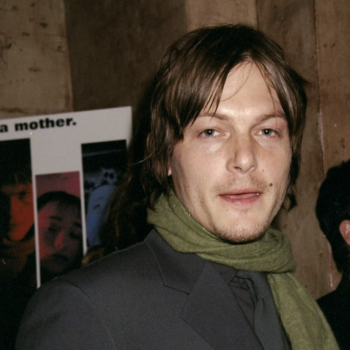 Norman Reedus as a '90s high fashion model is the #FBF Daryl Dixon lovers deserve
