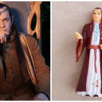 """This grandmother has accidentally been praying to a """"Lord of the Rings"""" action figure, and we feel this so hard"""