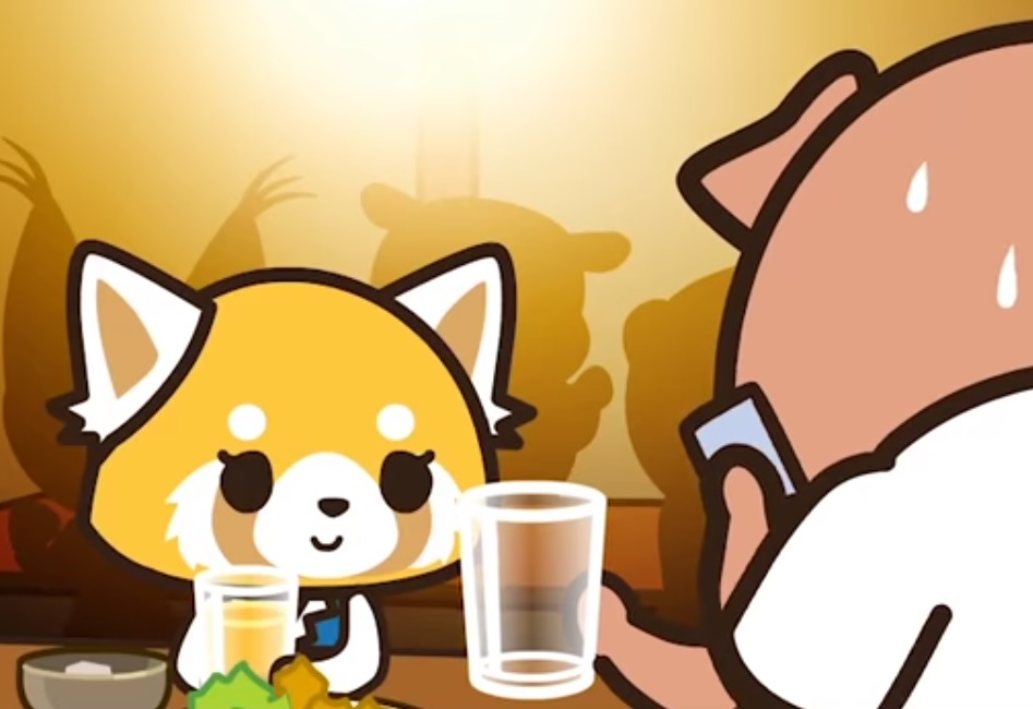 Sanrio's latest character, a red panda named Aggretsuko, is someone we can all relate to