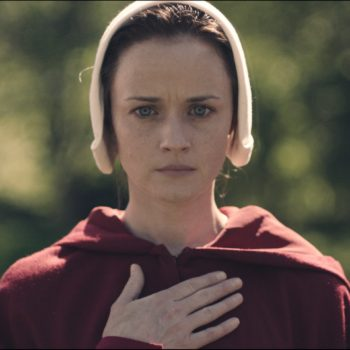 """Alexis Bledel compared her """"Handmaid's Tale"""" character to a spy"""