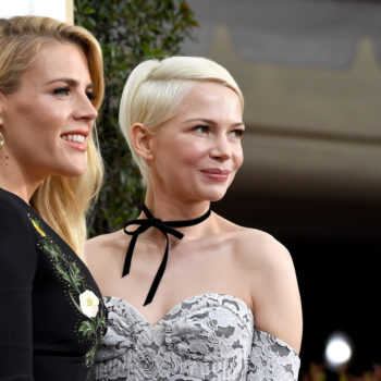 From Michelle Williams to Mandy Moore, female BFFs were the hottest date at the Golden Globes