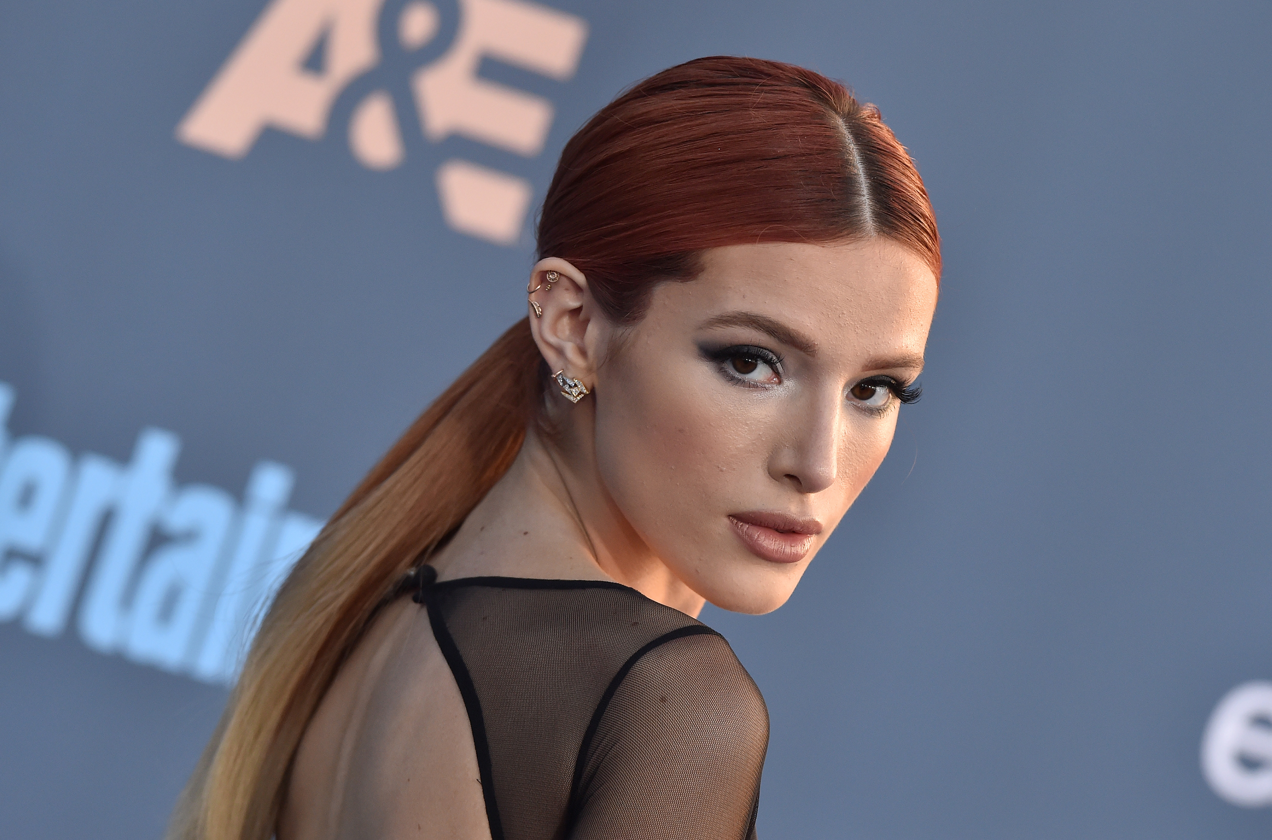 So This Is Why Bella Thorne Keeps Dyeing Her Hair Different Colors