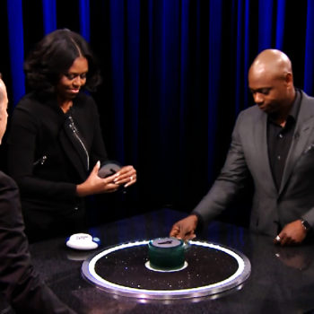 Michelle Obama played Catchphrase with Jimmy Fallon, Dave Chapelle, and Jerry Seinfeld, and it was simply amazing