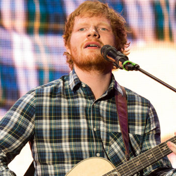 Ed Sheeran performed a duet with a Spice Girl and someone please hold us