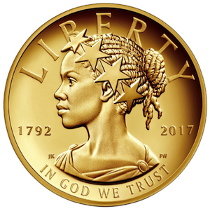 Lady Liberty will be portrayed as a woman of color on U.S. currency for the first time in history