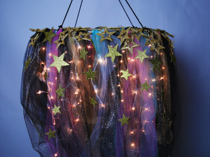This Diy Galaxy Chandelier Will Really Improve Your Space