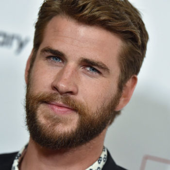 Liam Hemsworth's birthday celebration face is a little too intense