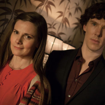 Sherlock (both the person and the show)is a total jerk to Molly Hooper, and it is 100% not okay