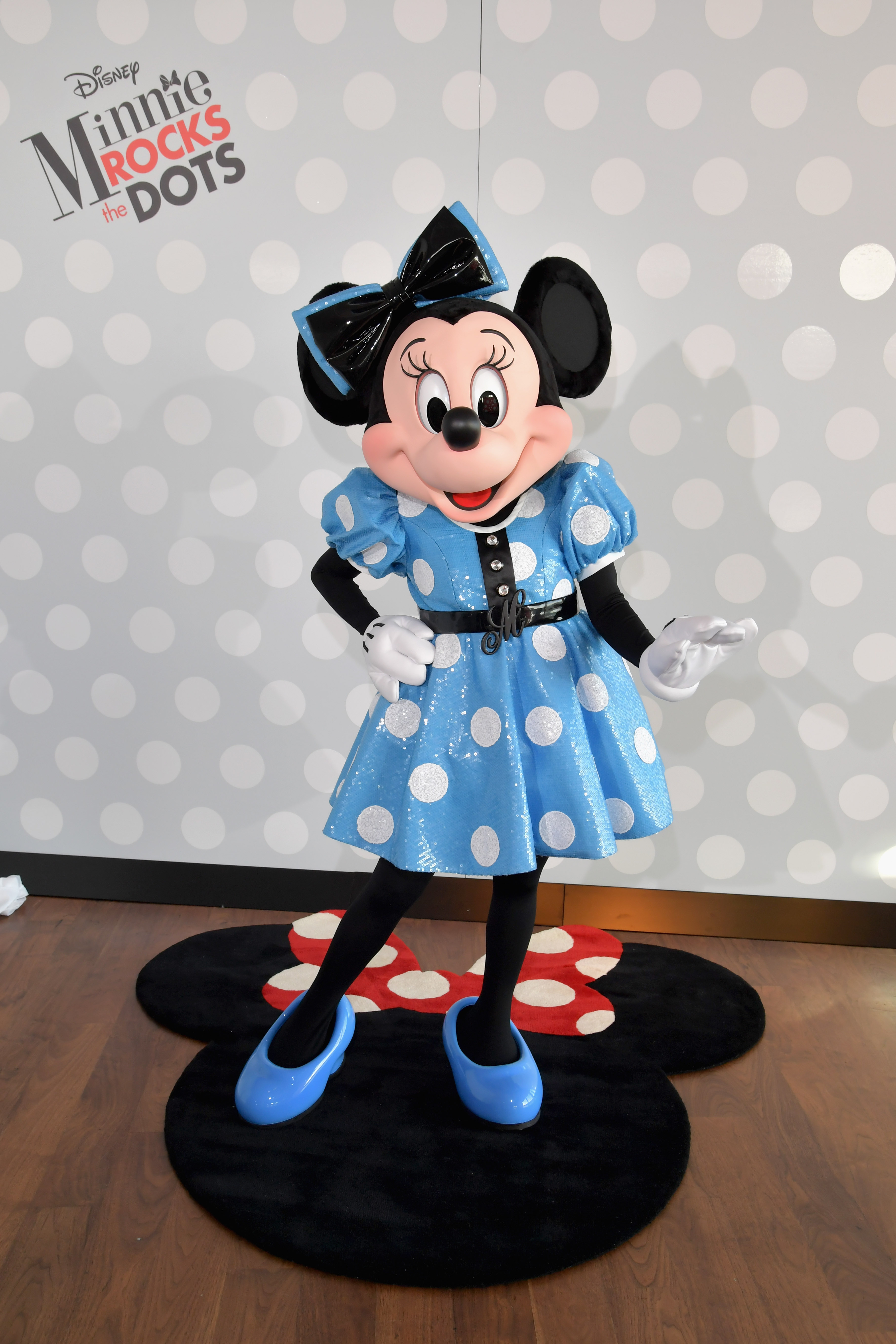 Minnie Mouse and Gray Malin Rock the Dots Celebration