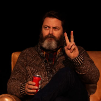 Nick Offerman's poem about firewood will definitely warm your heart this winter