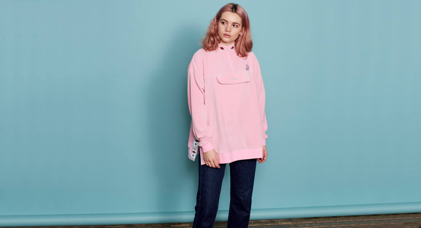 838bc020b This Lazy Oaf x Esther Kim collab is the stuff of your pastel-pink ...