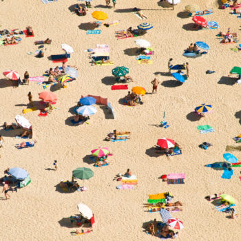New study finds that beach umbrellas actually aren't protecting you from the sun at all, so thanks for nothing?