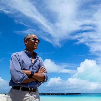 Obama will continue to oversee climate change (kind of) through Antarctica's Station Obama