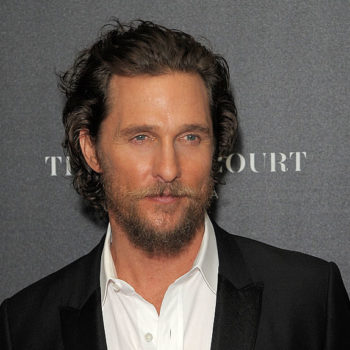 Matthew McConaughey's dad won a motorcycle in the grossest but most impressive way
