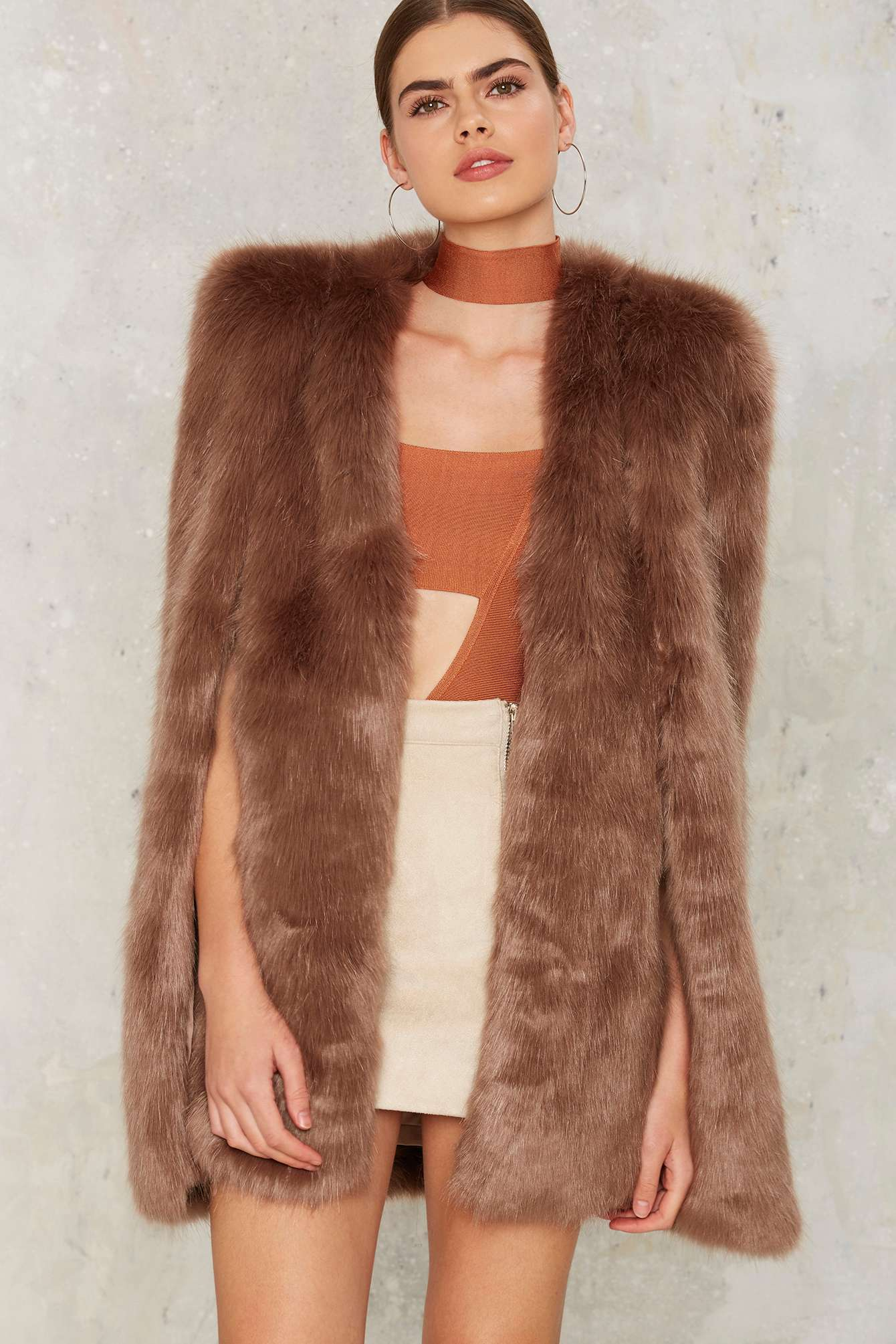 a570a98e5 Ashley Benson is obsessed with her new fur coat, and so are we ...