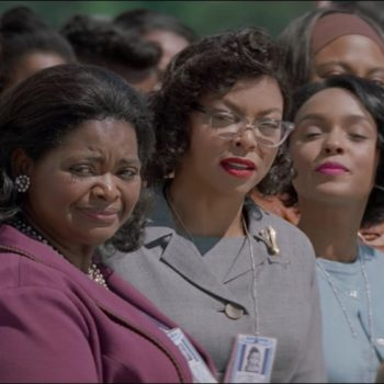 "Jim Parsons and Taraji P. Henson ALSO just bought out screenings of ""Hidden Figures"" for people who couldn't afford tickets"