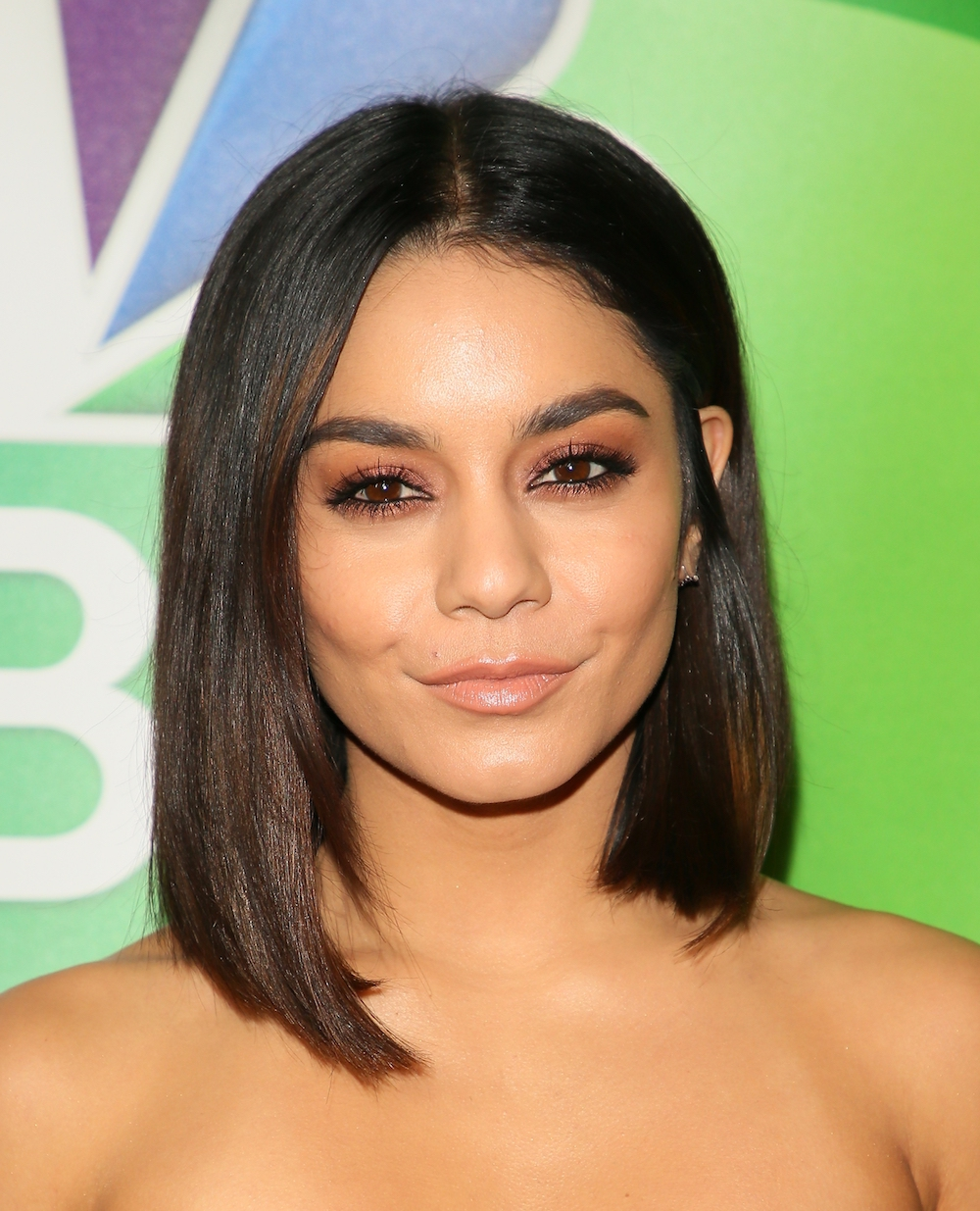 Vanessa Hudgens Is Giving Us Posh Spice Vibes With Her Sleek Bob