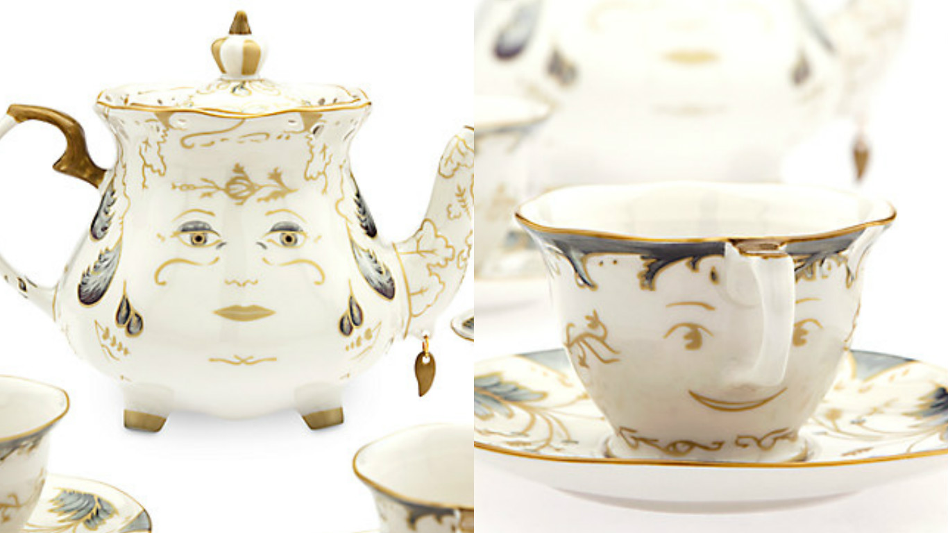 Just Buy This Beauty And The Beast Tea Set Or You Will Regret It
