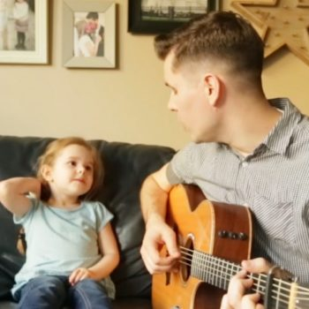 """This father and daughter covered """"You've Got A Friend In Me,"""" and it'll make your whole week"""