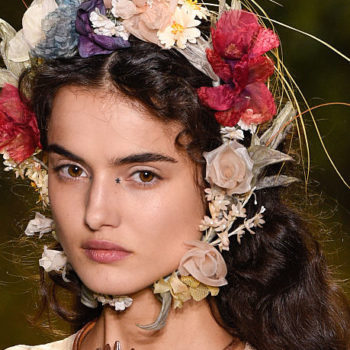 This could be the new flower crown trend of 2017