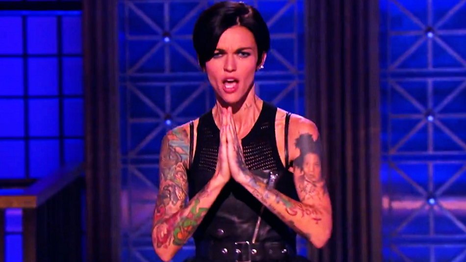 Ruby Rose Will Be Singing Quot Bitch Quot On Quot Lip Sync Battle