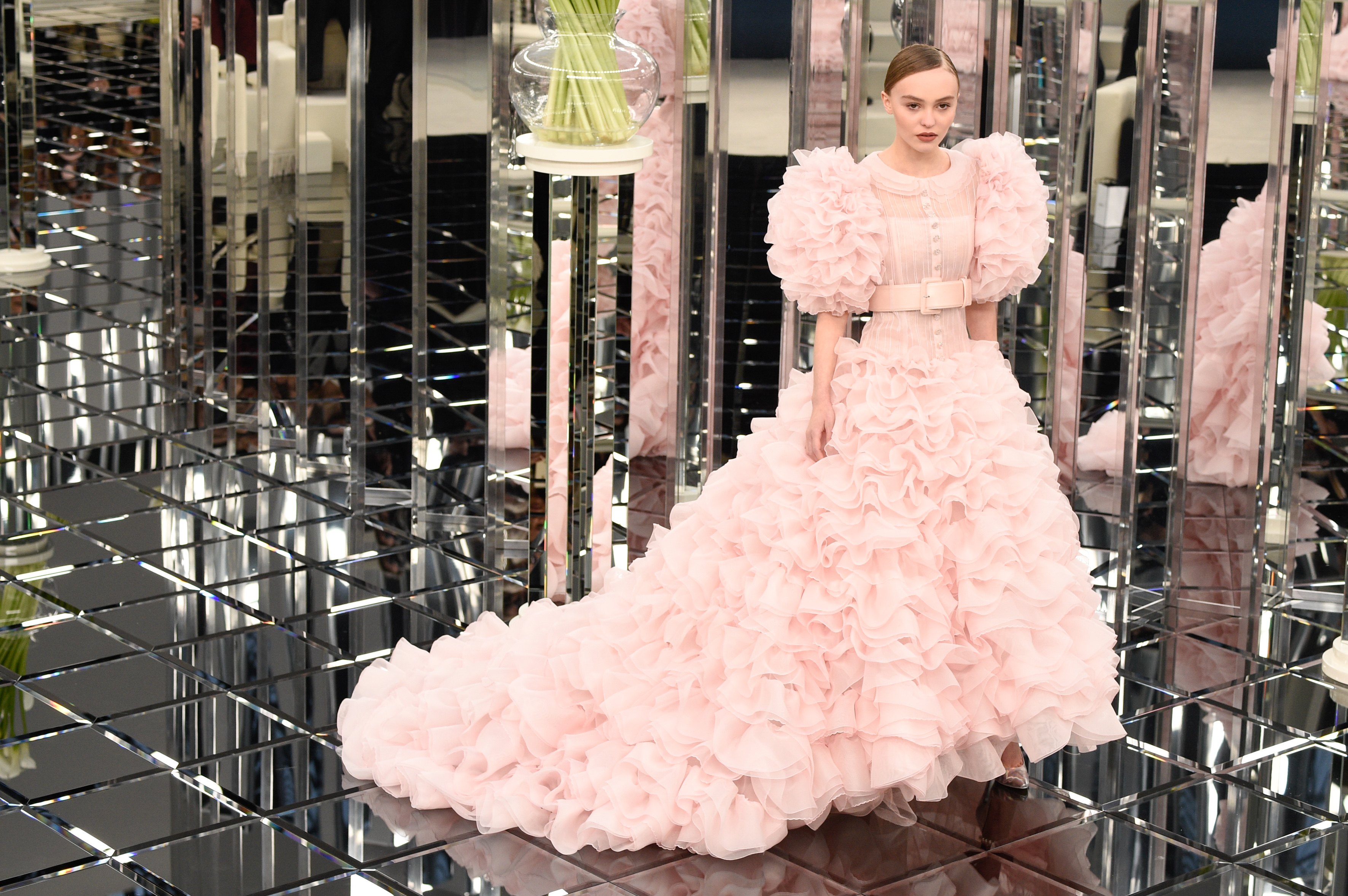 Chanel just brought Ariel\'s pink dress from \