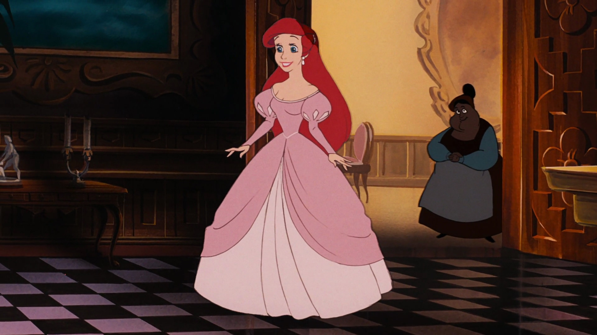 The Chanel Dress Looks Exactly Like Ariel S Fabulous Pink From Little Mermaid