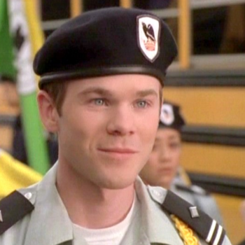 "The gorgeous guy from ""Cadet Kelly"" has become such a dreamy man"