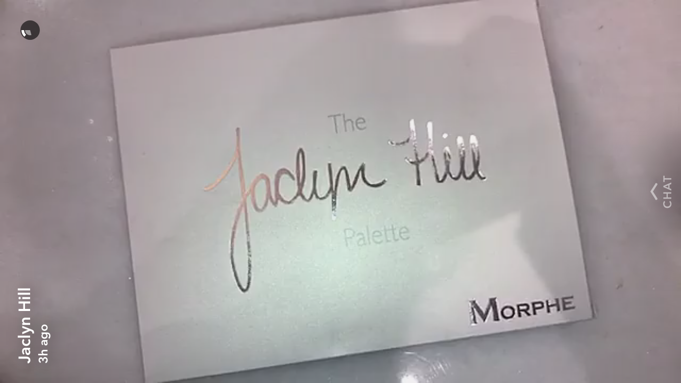 jaclyn hill teased swatches of her new palette with morphe brushes  and the colors are dazzling