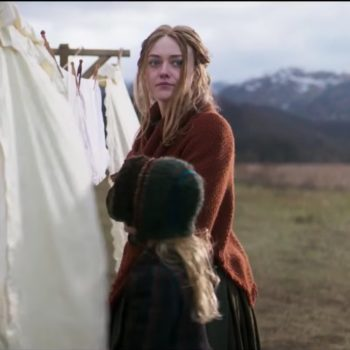 """Dakota Fanning's terrifying new movie about witches has not one, but TWO of our favorite """"GoT"""" actors"""